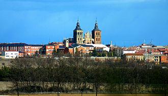 Astorga, Spain - Image: Spain.Leon.Astorga.C atedral.de.Santa.Mar ía