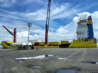 Philippine Span Asia Carrier Corporation (PSACC) - Span Asia 25 docked at the Zamboanga International Seaport