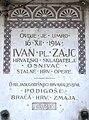 Spomen ploca Ivan Zajc Visoka Zg 210209.jpg
