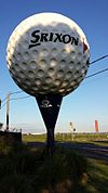 The Big Golf Ball at the Spring Valley Golf Course in Clayton South