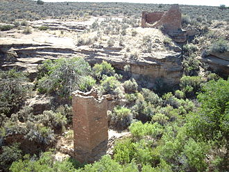 Hovenweep National Monument - Square Tower