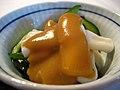 Squid, miso, cucumber salad (5442215090).jpg