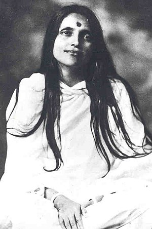 Anandamayi Ma - Studio photo of Anandamayi Ma