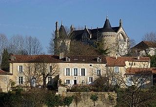 Saint-Aulaye Part of Saint-Aulaye-Puymangou in Nouvelle-Aquitaine, France