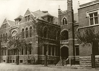 St. Andrew's Church (Richmond, Virginia) - St. Andrew's School, early 1900s