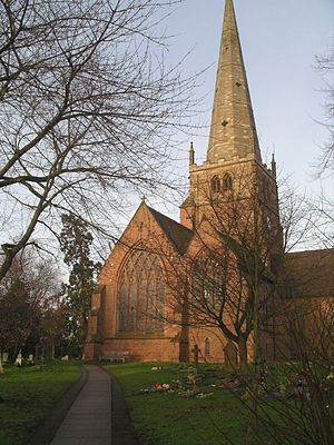 Solihull - St. Alphege's Church, Solihull