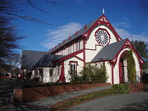 Rangi Ruru Girls' School - St Andrew's Church at Rangi Ruru