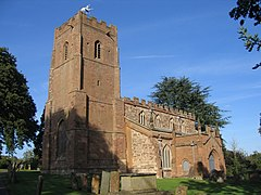 St Botolph's Church, Newbold-on-Avon - geograph.org.uk - 59377.jpg