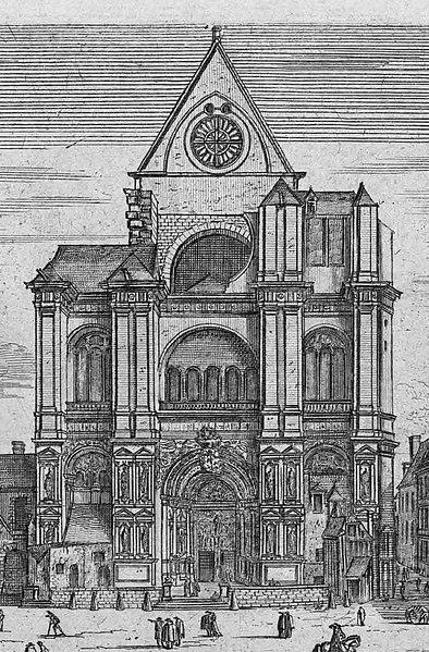 File:St Eustache anc facade.jpg