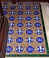 St Mary, Denton, Norfolk - Chancel tiles - geograph.org.uk - 1562095.jpg