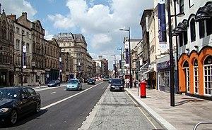 St Mary Street/High Street - Image: St Mary Street, Cardiff