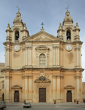 Image illustrative de l'article Cathédrale Saint-Pierre-et-Saint-Paul de Mdina