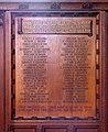St Saviour, Eton Road, London NW3 - Memorial WWI - geograph.org.uk - 1752556.jpg