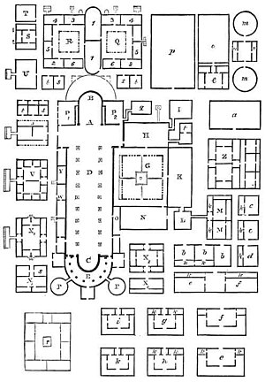 Plan of Saint Gall - A copy of the plan