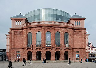 theatre and opera house in Mainz, Germany