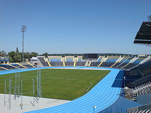 Zdzisław Krzyszkowiak Stadium - Image: Stadion Zawiszy Bydgoszcz widok ogolny