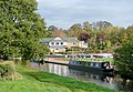 Staffordshire and Worcestershire Canal by Stafford Boat Club - geograph.org.uk - 1573426.jpg