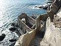 Stairs down to Lost Place near Playa San Juan.JPG