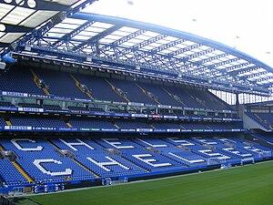 Klubbens hjemmearena Stamford Bridge 2008.