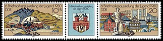 Stamps of Germany (DDR) 1980, MiNr Zusammendruck 2532, 2533.jpg