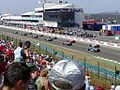 Start grid ready for start at the 2003 Hungarian Grand Prix.jpg
