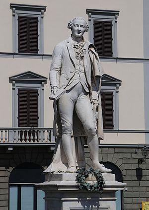 Monument to Carlo Goldoni - Marble Statue of Goldoni