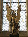 Statue Saint-Michel collégiale Blainville-Crevon.jpg