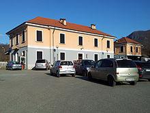 Esterno della stazione ferroviaria