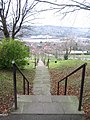 Steep flight of steps - geograph.org.uk - 1370452.jpg