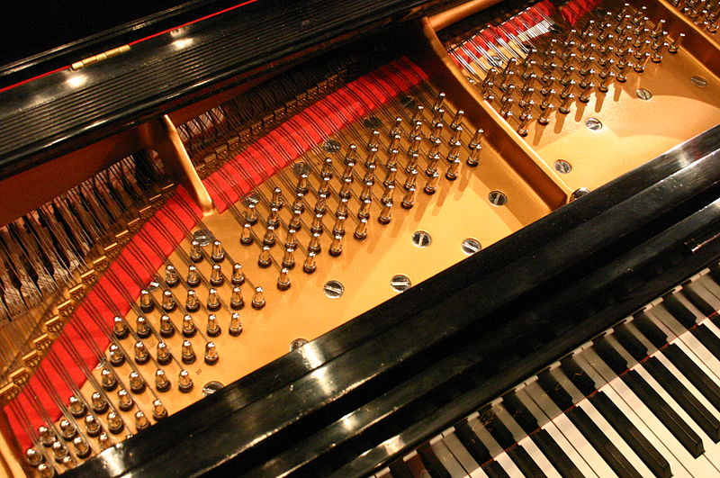 File:Steinway grand piano strings and keys.JPG