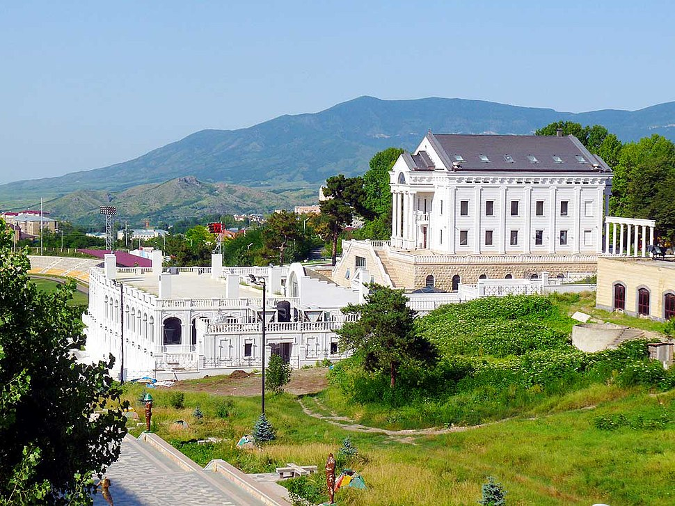 Stepanakert downtown 2015