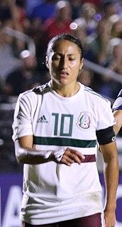 Stephany Mayor Mexican footballer