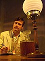 Stephen Billington as Trigorin Finborough Theatre London 2010.jpg