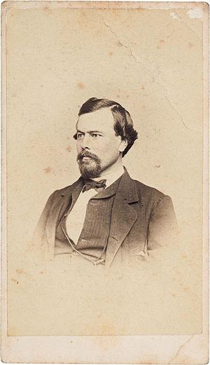 Stephen H. Weed - Image: Stephen Hinsdale Weed 1863 CDV