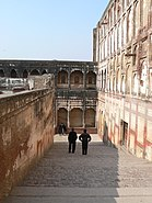 Steps within the Lahore Fort