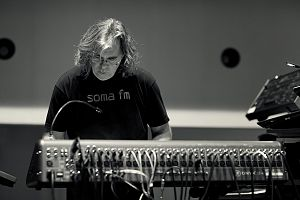 Steve Roach (musician) - Roach during a soundcheck at SoundQuest in October 2010, Tucson, Arizona.