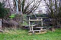 Stile to the B480 - geograph.org.uk - 1660849.jpg