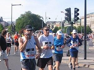 Stockholm Marathon - Stockholm Marathon near Royal Palace, 2008