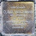 Stolperstein Bleibtreustr 33 (Charl) Clara Buschmann.jpg