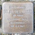 Stolperstein Dr Alfred Masur by 2eight 3SC1455.jpg