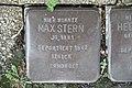 Stolperstein Duisburg 300 Mittelmeiderich Augustastraße 29 Max Stern.jpg