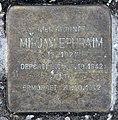 Stolperstein Klopstockstr 13 (Hansa) Mirjam Ephraim.jpg