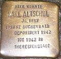 Stolperstein Oberweg 56 Karl Altschul.jpg