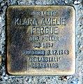 Stolperstein Oranienburger Str 285 (Witt) Klara Amelie Fergue.jpg