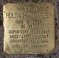 Stolperstein Pariser Str 13 (Wilmd) Hulda Hamburger.jpg