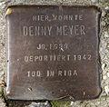 Stolperstein Ritterstr 63 (Kreuz) Denny Meyer.jpg