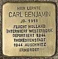 Stolperstein für Carl Benjamin (Köln).jpg