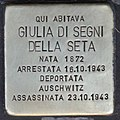 Stolperstein für Giuliadi Segni della Seta (Rom).jpg