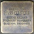 Stolpersteine Köln, Hans Gumpert (Berrenrather Straße 383).jpg