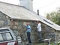 Stonemasons working on Ty-newydd - geograph.org.uk - 248725.jpg